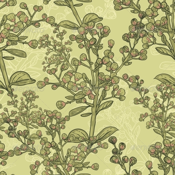 GraphicRiver Vintage Seamless Pattern for Retro Wallpapers 5221747