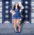 Young US marine corps pin-up girl. Sailor style - PhotoDune Item for Sale