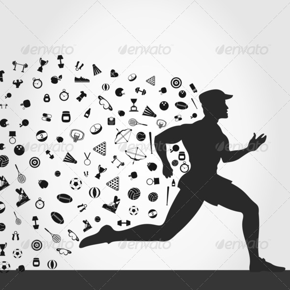 Runner sports - Stock Photo - Images