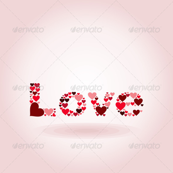 Inscription love - Stock Photo - Images