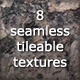 8 Tileable Marble Photoshop Texture Patterns + png