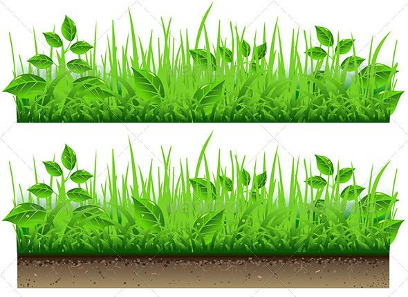 GraphicRiver Grass Border 5222251