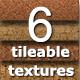 6 Tileable Cork Photoshop Texture Patterns - GraphicRiver Item for Sale
