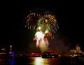 Colorful Firework over Cologne