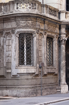 Old building detail