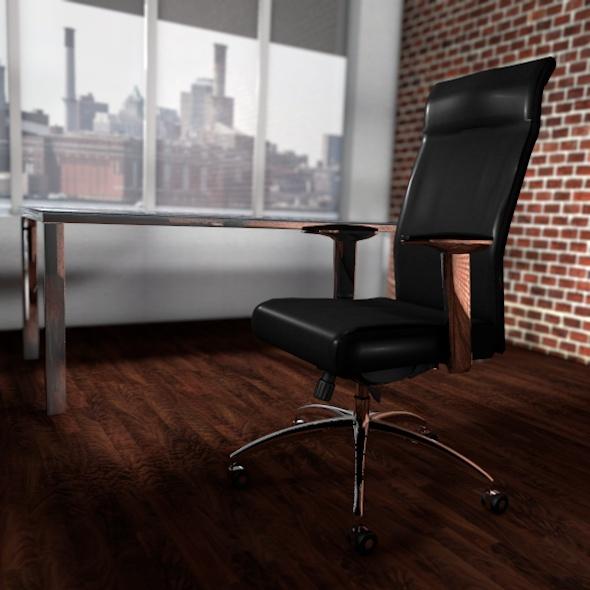 3DOcean Executive Chair 514612