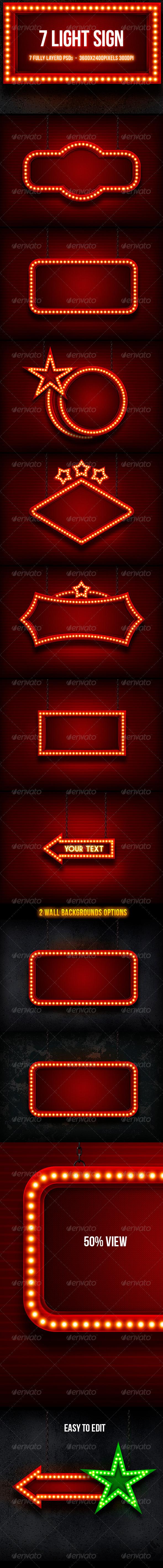 GraphicRiver Light Sign 5223354