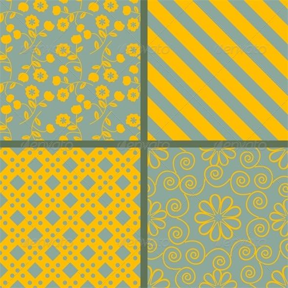 GraphicRiver Patterns Set 5223419