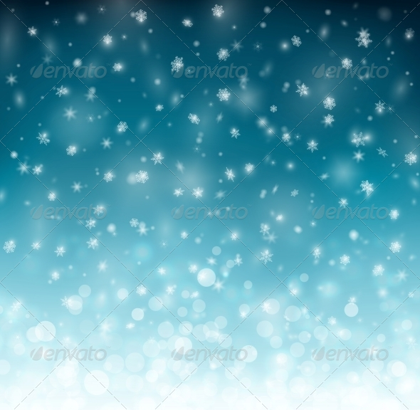 GraphicRiver Winter Background 5223429
