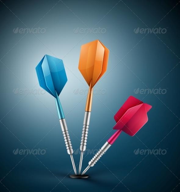 GraphicRiver Three Darts 5223497