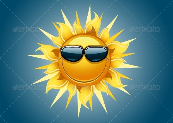 GraphicRiver Smiling Sun 5216681