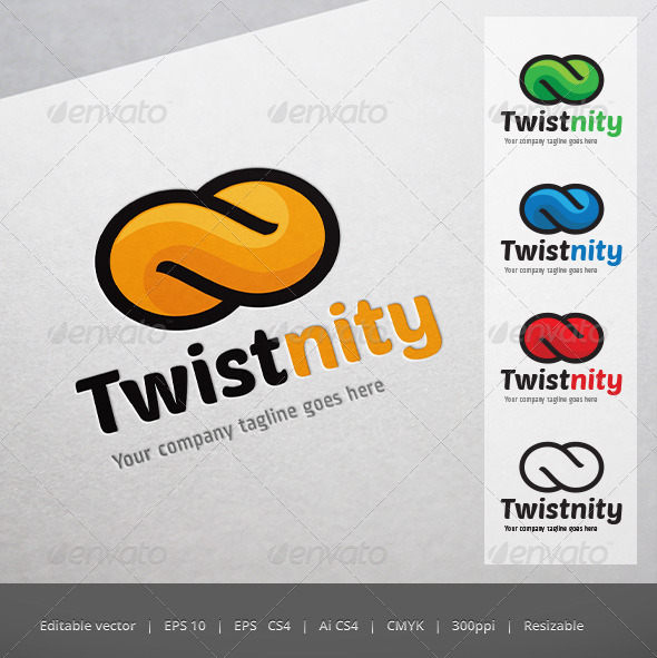 GraphicRiver Twistnity Logo 5223797
