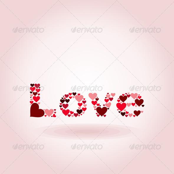 GraphicRiver Inscription Love 5223805