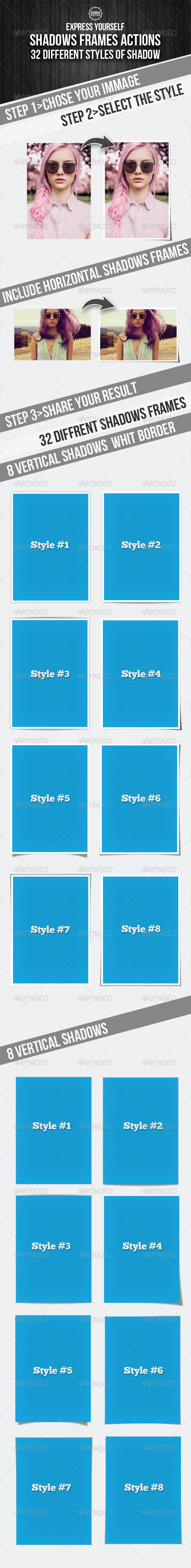 GraphicRiver Image Shadows Framing Actions 5224214