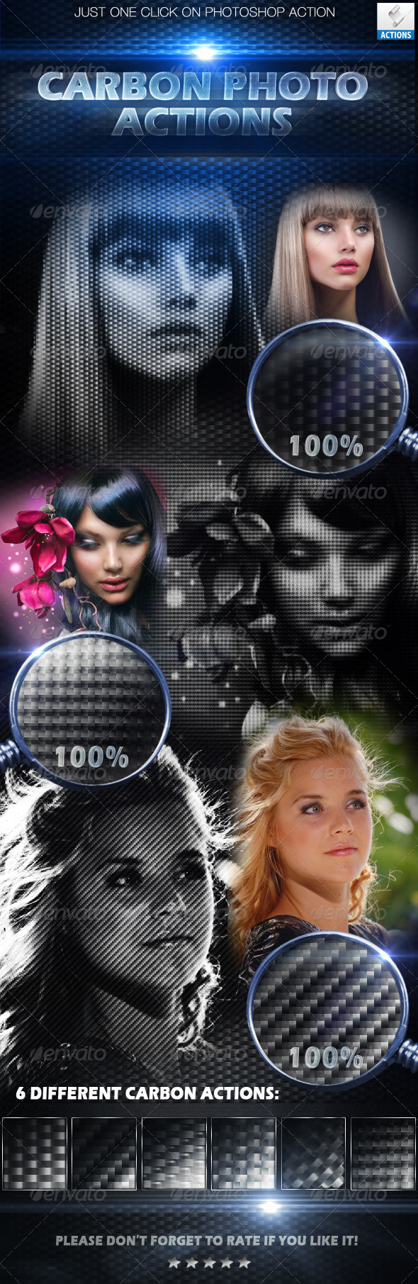 GraphicRiver Carbon Photo Actions 5224978
