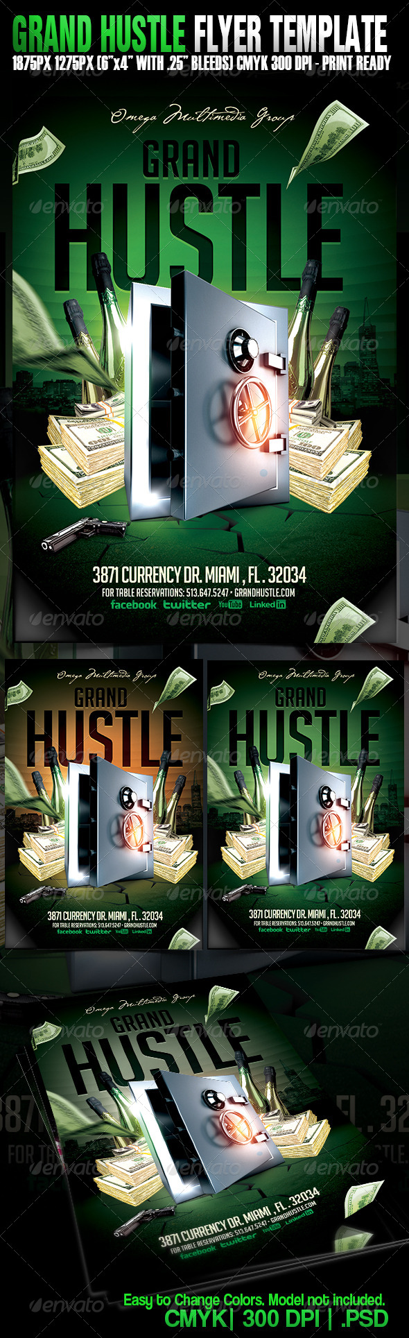 GraphicRiver Grand Hustle 4791947