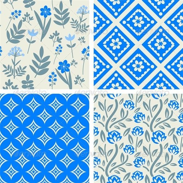 GraphicRiver Patterns Set 5225393