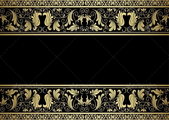 GraphicRiver Gilded Frame with Decorative Elements 5225407
