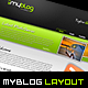 MyBlog Unique Layout - ThemeForest Item for Sale