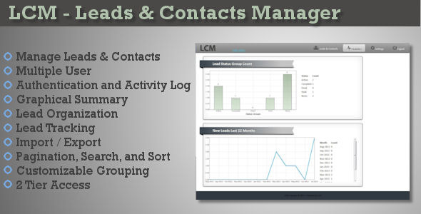 CodeCanyon LCM Leads & Contacts Manager 5225904