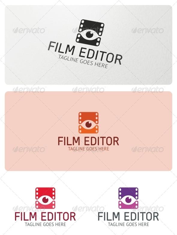 GraphicRiver Film Editor Logo Template 5215722
