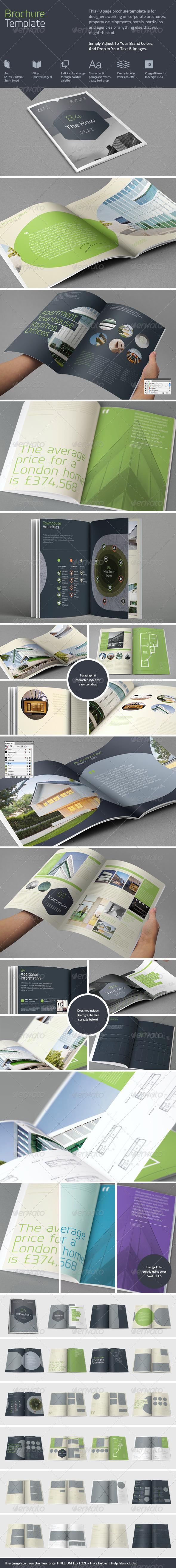GraphicRiver Brochure Template 5172594