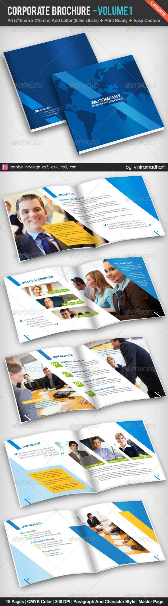 GraphicRiver Corporate Brochure Volume 1 5226184