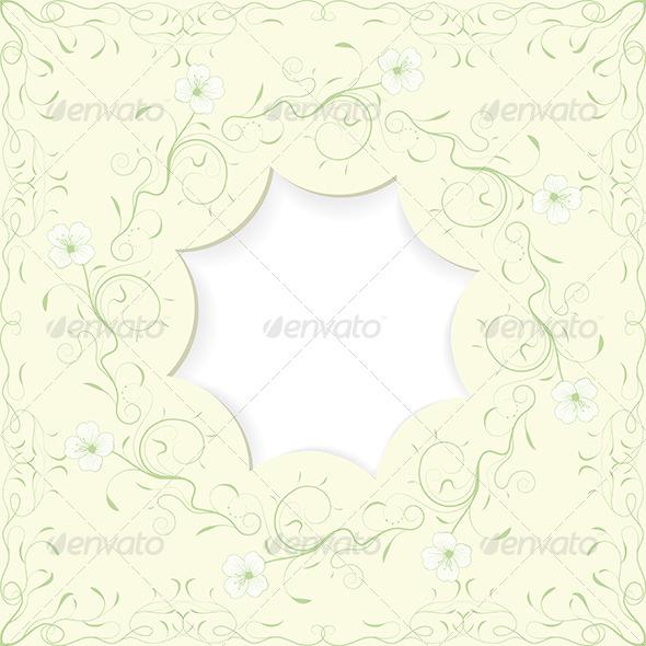 GraphicRiver Floral Frame 5226218