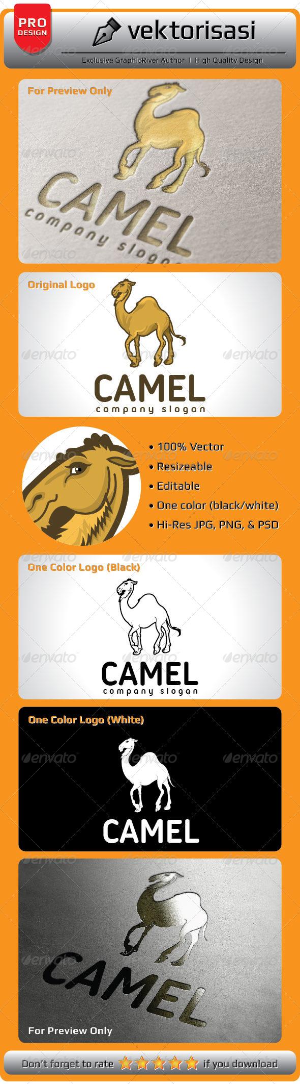 GraphicRiver Camel Logo 5226232