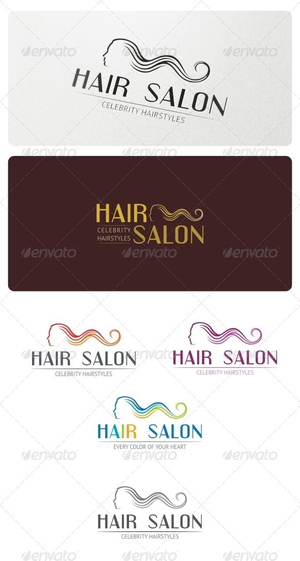 GraphicRiver Hair Salon Logo Template 5226719