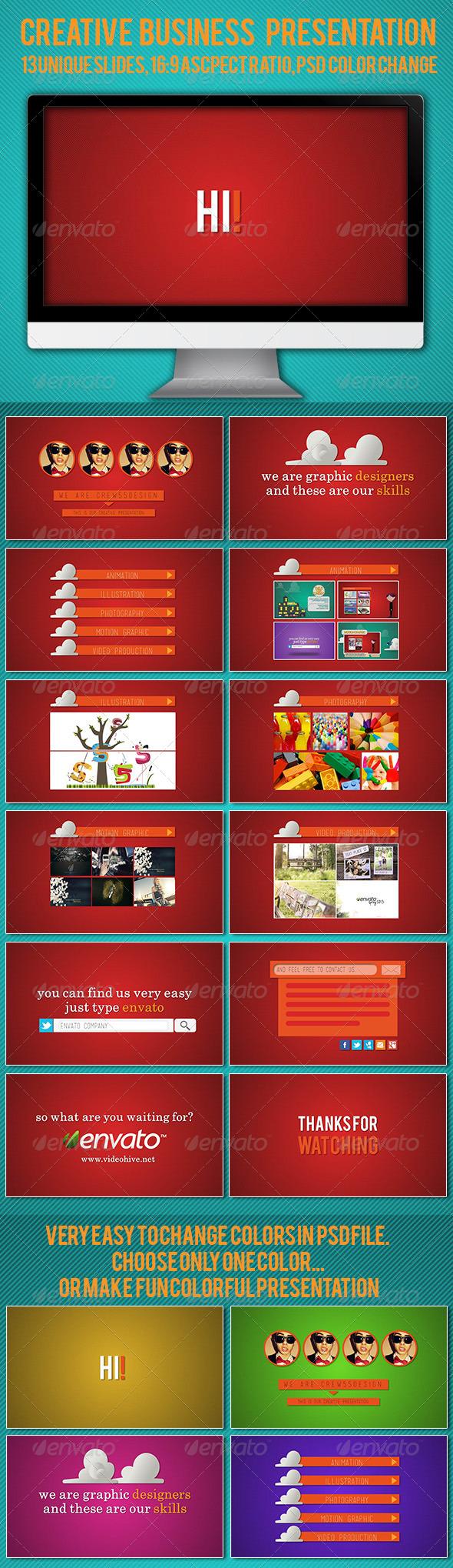 GraphicRiver Creative Business Presentation 5227094