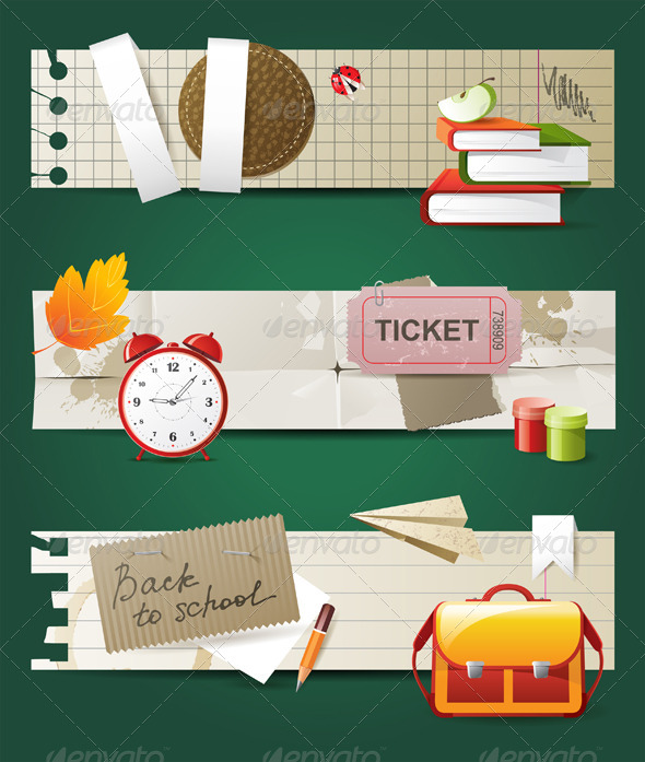 GraphicRiver Back to School 5227914