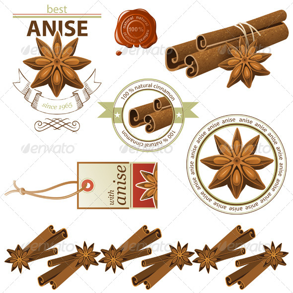 GraphicRiver Anise and Cinnamon 5227928