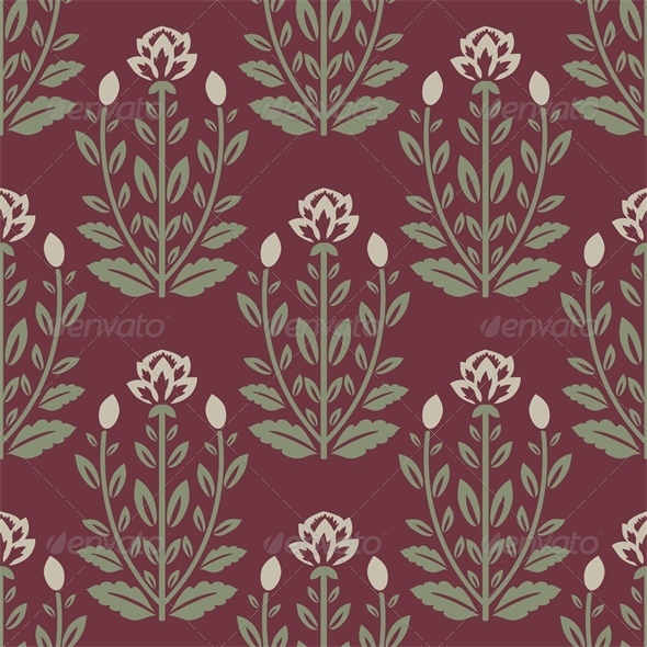 GraphicRiver Floral Pattern 5228033
