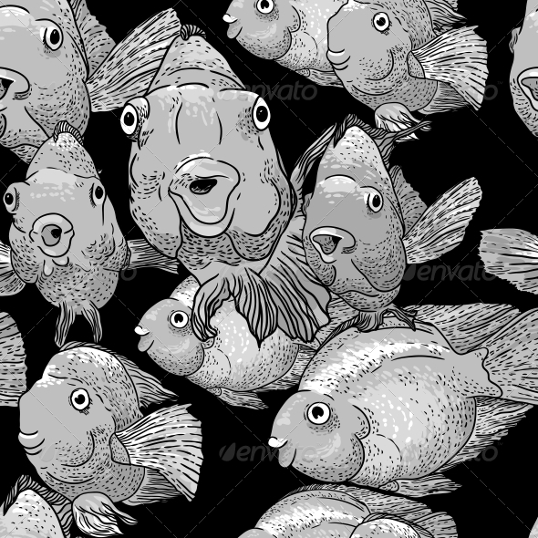 GraphicRiver Fish Background 5228582