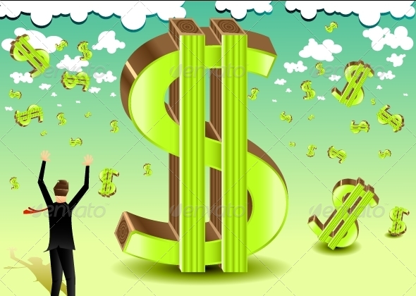 GraphicRiver Money Illustration 5228789
