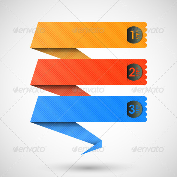 GraphicRiver Step Origami Background 5228993