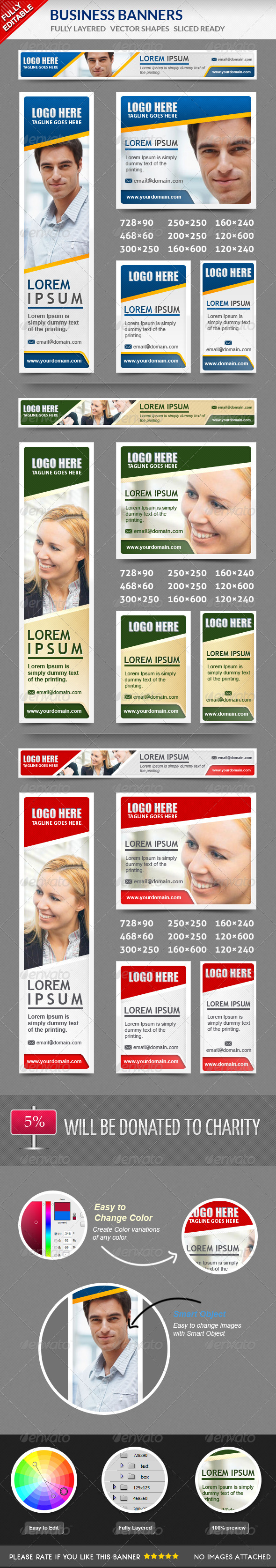GraphicRiver Business Banners 5229007