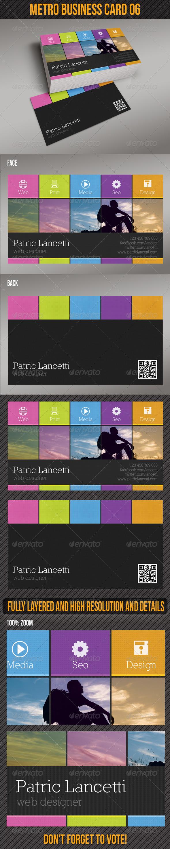 GraphicRiver Designer Business Card 06 5229018