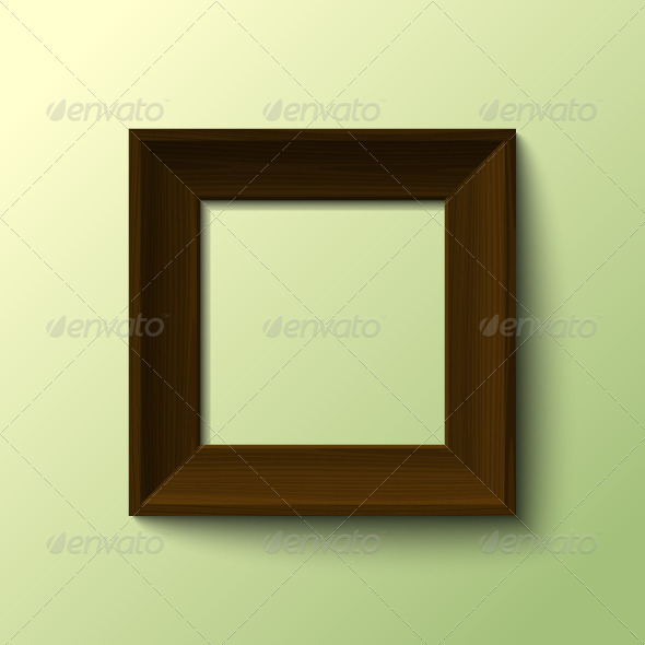 GraphicRiver Wooden Frame 5229043