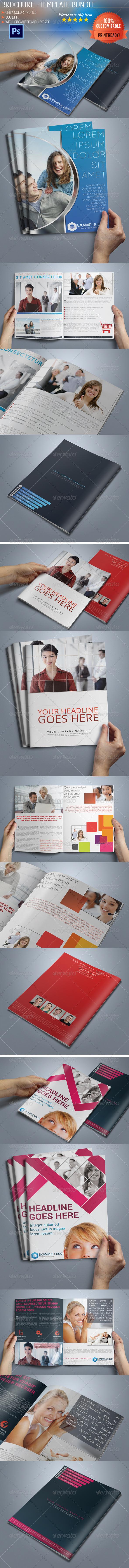 GraphicRiver Multipurpose Bi-Fold Business Brochure Bundle 02 5229318