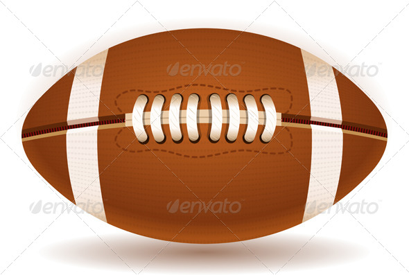 GraphicRiver American Football Ball 5229621
