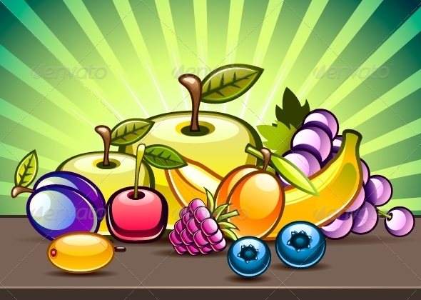 GraphicRiver Fruit on the Table 5230063