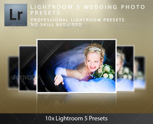 GraphicRiver Lightroom 5 Wedding Presets 5230064