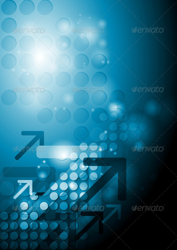 GraphicRiver Bright Hi-Tech Background 5230296