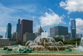 Chicago Buckingham Foutain in Grant Park - PhotoDune Item for Sale
