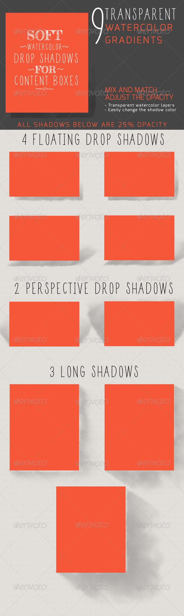 GraphicRiver Watercolor Shadows 5231372