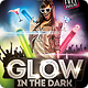 Glow in The Dark Party Flyer Template - GraphicRiver Item for Sale