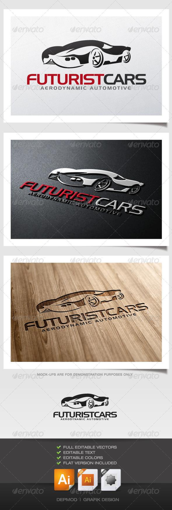 GraphicRiver Futurist Cars Logo 5231581