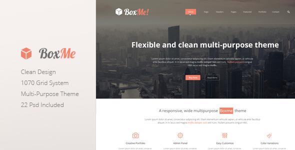 ThemeForest Boxme Clean Multipurpose Corporate Theme 5212188